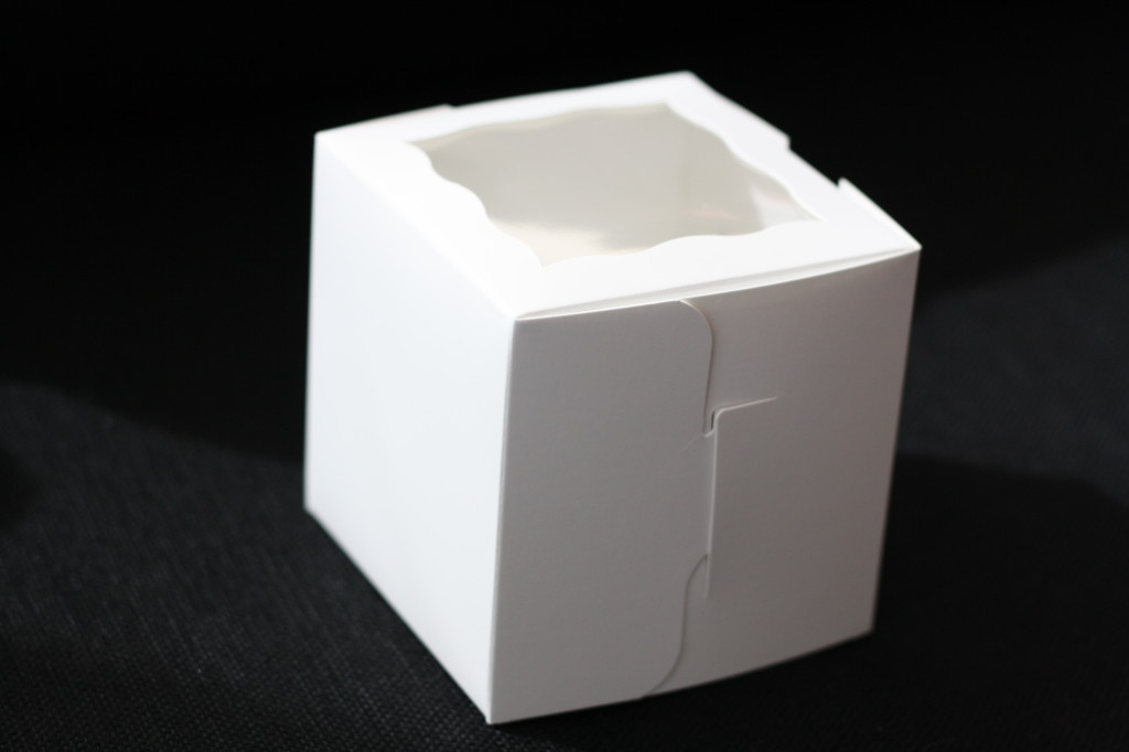White Windowed Cupcake Boxes 1 Pack Window Cupcake Box Plain